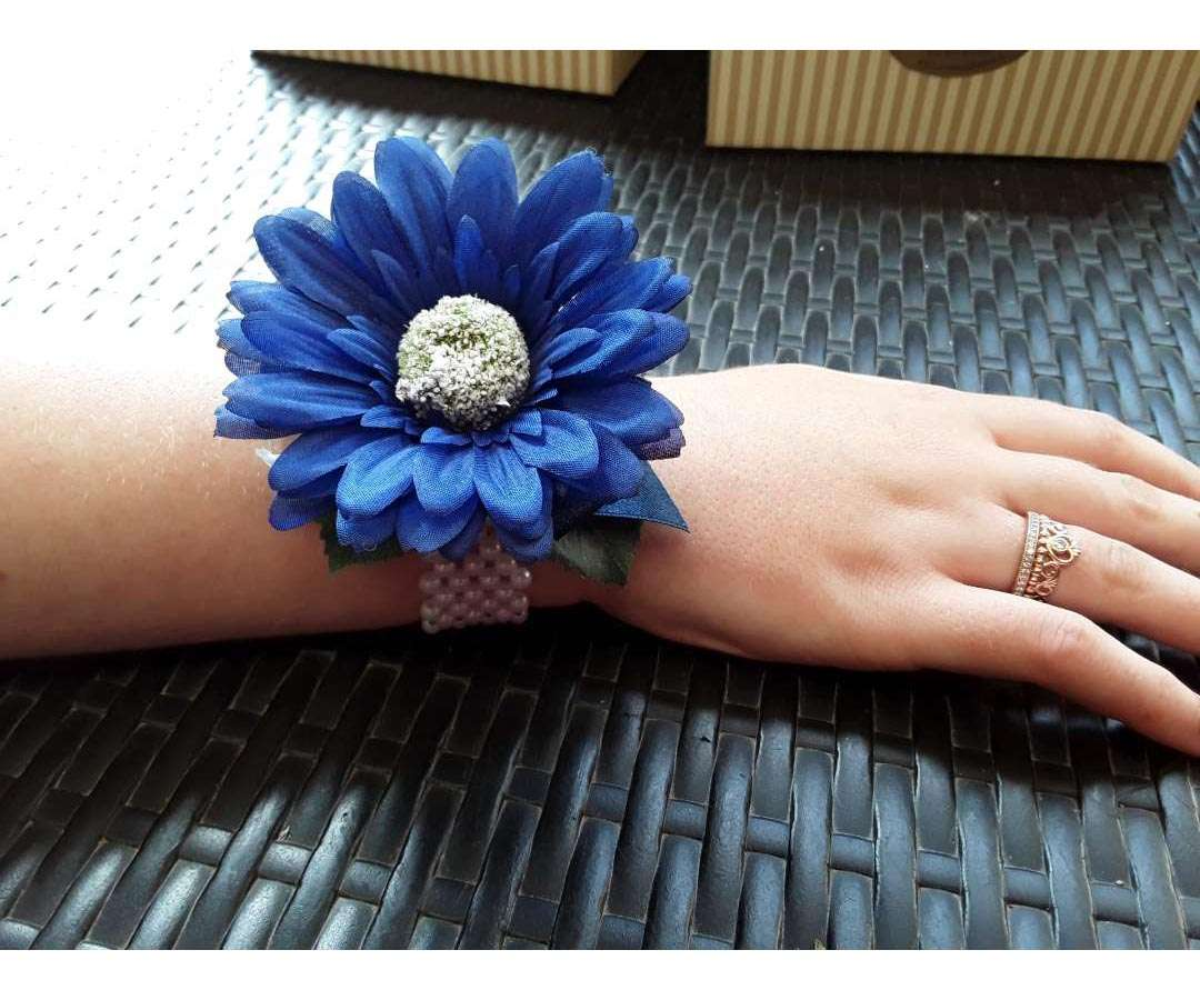 Artificial Blue Gerbera