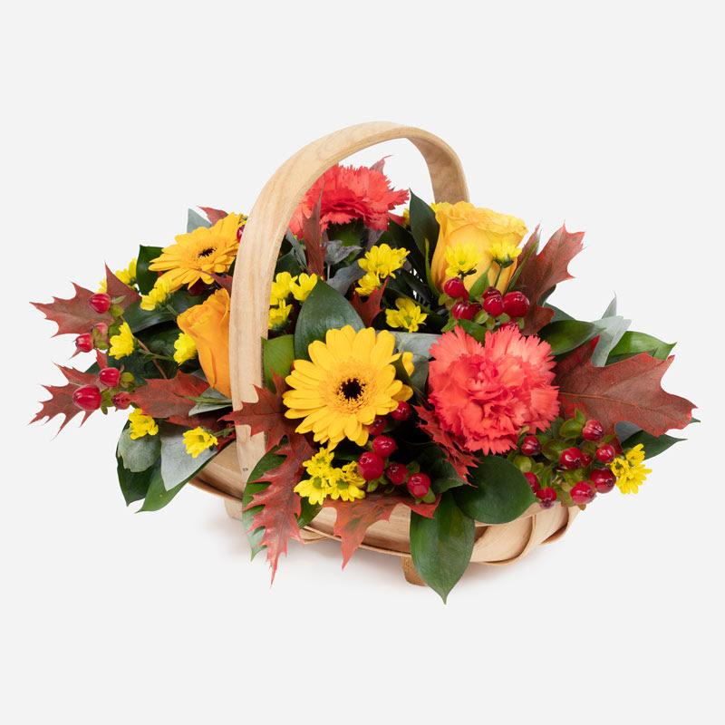 Autumn Hedgerow Basket 46.50
